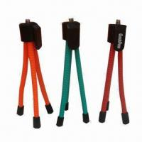 Wholesale Mini Metal Tripods for Digital Cameras, Can Be Adjusted to Any Angle, Lightweight and Flexible from china suppliers