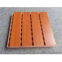 Wholesale Custom Solid Wooden Grooved Acoustic Panel Sound Asorption Board For Music Room from china suppliers