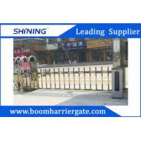 5m Waterproof Anti - Rust Steel Parking Lot Swing Gates With Automatic Fence Arm