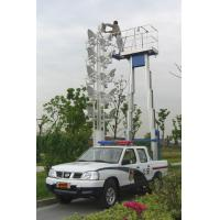 200Kg And 9m Dual Mast Aerial Work Platform Type Truck-Mounted And Aluminum