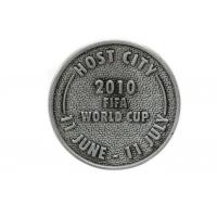 Wholesale Iron / Brass Custom Engraved Coins , Shiny / Matte Finishing Custom Silver Coins from china suppliers