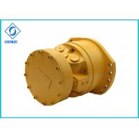 China Single Speed Hydraulic Piston Motor Steel Material For Caterpillar Skid Steer on sale