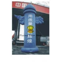 Wholesale 8m Blue Advertising Helium Balloons Inflatable Pillar For Promotional Business from china suppliers