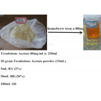 tren acetate and test 400 cycle