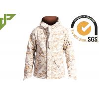 Wholesale Men's Desert Military Tactical Jackets For Outside Hunting Lamination Treatment from china suppliers