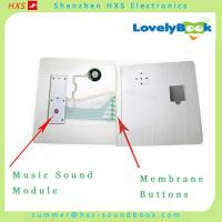 China Many Push Buttons Musical Sound Module for Children Books with PET Film Button on sale