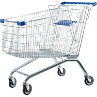 China 60 - 240 Liters Supermaket Shopping Carts Trolley with Baby Seat on sale