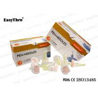 Wholesale 100% Medical Grade 30G * 8mm Pen Needles , Disposable Diabetic Insulin Needles from china suppliers