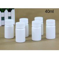 Quality 40 Ml Plastic Tablet Bottles Tablet Container For Medicine Capsule Pill for sale