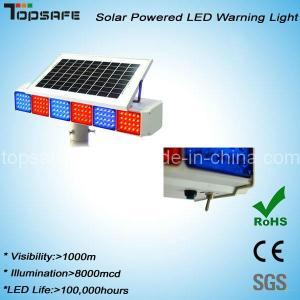 Quality New Design High Brightness Flashing Solar Traffic Warning Light (TS-WP-1) for sale
