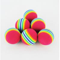 Wholesale rainbow golf ball from china suppliers