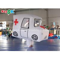 China Giant Custom Inflatable Products  Ambulance Model For Promotion on sale