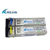 Wholesale WDM 1310nm / 1550nm SFP Transceiver Module 40KM PIN Receiver Hilink Brand from china suppliers
