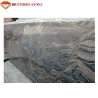 Wholesale Commercial Large Polished Granite Stone , G603 Grey Juparana Granite from china suppliers