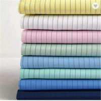 Wholesale Uniforms Esd Clothing Material 100% Polyester Plaid Electrically Conductive Fiber Fabric from china suppliers