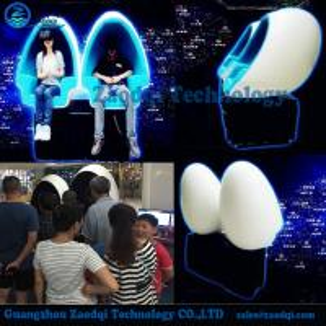 Wholesale Amusement machine Electric motion platform low cost big profit 9d vr egg cinema from china suppliers