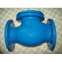 Wholesale High pressureBS5153 / DIN3202 F1 / BS4090 cast iron swing check valve from china suppliers