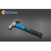 Carbon Steel Claw Hammer Soft TPR PP Handle Drop Forged ISO9001 Manufactures