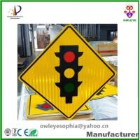 Wholesale Customized reflective traffic sign,High intensity reflective film with Prismatic Road safety traffic sign from china suppliers