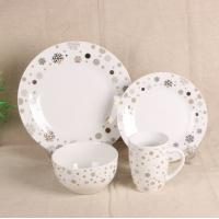 Wholesale Luxury EU Style Bone China Dinnerware Sets , Tableware Dinnerware Sets For Gift from china suppliers