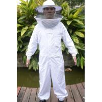 Wholesale High Quality Cotton and Terylene Beekeeping Protective Clothing with Round Bee Hat from china suppliers