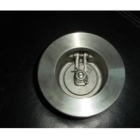 Wholesale Light weight single plate wafer check valve applicable to water supply system, petroleum from china suppliers