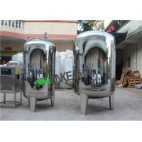Wholesale Food Grade Stainless Steel Water Storage Tank For Water Treatment Filter Housing from china suppliers