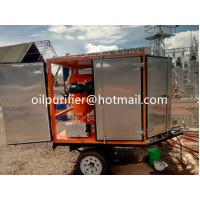 Wholesale Portable Explosion-proof Transformer Oil Dehydration Plant,mobile circuit breaker oil purifier ,movable oil filter unit from china suppliers