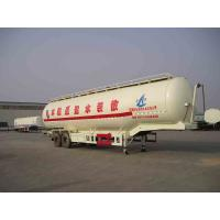 Wholesale Durability Bulk Cement Truck Transporter Trailer 2 Axles 3 Axles Optional from china suppliers