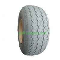 Wholesale 10 Inch Golf Cart Tires Non Mark Grey PU Filled Rubber For Yamaha from china suppliers