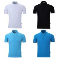 Wholesale Summer Short Sleeved 65% Cotton Business Work Polo Shirts For Men And Women from china suppliers
