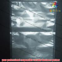 China Clear Channell Food Vacuum Seal Bags With Zipper For Biscuit Packaging on sale