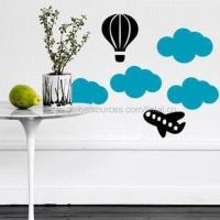 Wholesale Wall Decal for Children Room Decoration, Removable and Non-toxic, Measures 30 x 60cm from china suppliers
