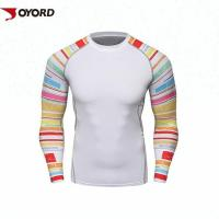 Wholesale Diving Custom Rash Guard  Long Sleeve Quick Dry Nylon  Polyester Fabric Material from china suppliers