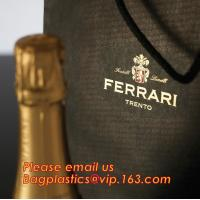 Wholesale luxury paper carrier bag wholesale paper bags with handle, decorative luxury recyclable fashion paper bags with your own from china suppliers