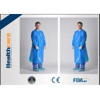 Unisex PE/ CPE Disposable Isolation Gowns Medical Patient Gowns Chemical Resistant