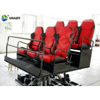 China Shopping Mall Mobile 7d Theaters 6 Seats Motion Chairs With Pneumatic System on sale