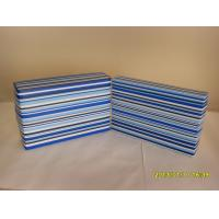 Wholesale Professional Unique Stripped Cardboard Jewelry Storage Boxes With Custom Logo from china suppliers