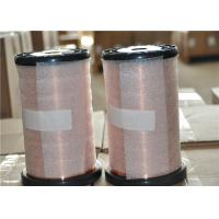 China Insulated Submersible Motor Winding Wire , Round Enamelled Copper Winding Wire on sale