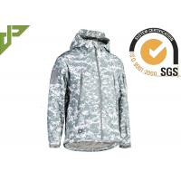 Military Style ACU Tactical Fleece Jacket , Law Enforcement Jackets Spandex Material