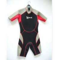 Quality Environment Kids Shorty Wetsuit With Neoprene Material For Swimming for sale