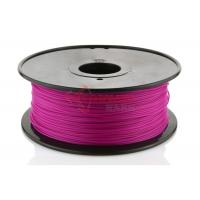 Wholesale Reprap Cubify Printer 1.75MM PLA Filament Purple For 3D Printing , 1KG / Spool from china suppliers