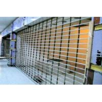 Wholesale Wireless Remote Control Steel Security Shutters , Practical Commercial Roller Shutters from china suppliers