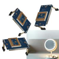 Wholesale 180-360 Degree LED Mirror Sensor 5.8GHz C Band Microwave Module Super Compact from china suppliers