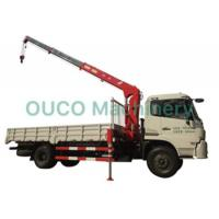 China Semi Knuckle Telescopic Boom Truck Mounted Boom Crane With Steel Structure on sale