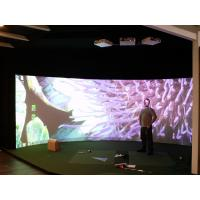 Wholesale HD Customized Curved Projection Screen 180 Degree For Flight Simulator from china suppliers