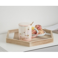Wholesale 330CC Wide Mouth 15cm Personalised Ceramic Mugs from china suppliers