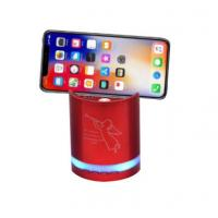 Wholesale New Design mobile phone holder outdoor speaker with LED blue tooth sound bar from china suppliers