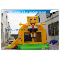 Wholesale Spongebob Inflatable Bounce House Bouncer For Kids Jumping PVC Tarpaulin from china suppliers