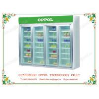 Wholesale OP-1101 Automatic Defrost Air Cooling Supermarket 4 Doors Commercial Refrigerator from china suppliers